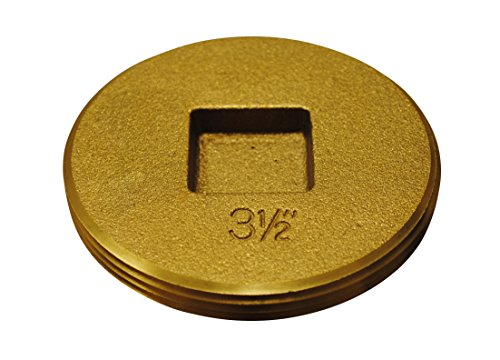 0.5 Cleanout Plug (Oatey 42744 Brass Cleanout Plug 3-1/2-Inch)