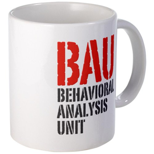 BAU Behavioral Analysis Unit Criminal Minds Mug Mug by CafePress