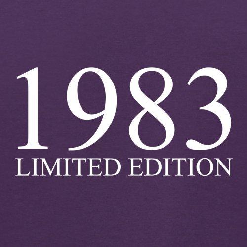 1983 Limierte Auflage / Limited Edition - 34. Geburtstag - Herren T-Shirt - Lila - M