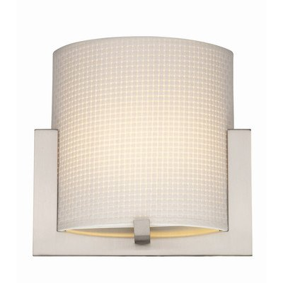 "Bow A La Carte Weave Wall Sconce Shade in White Size: 10.25"" H x 10"" W"