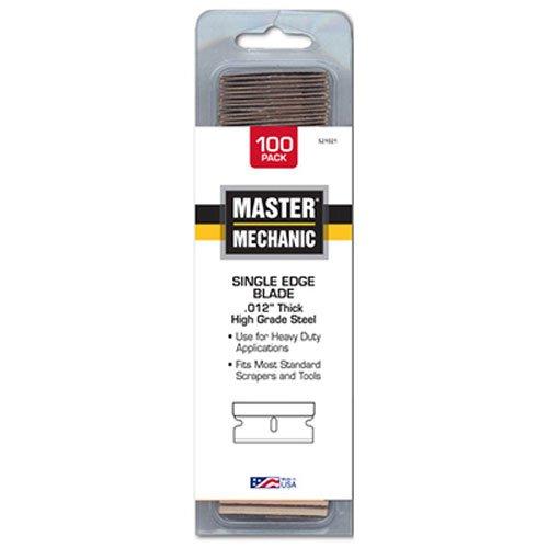 - idl tool international mm0970-08 Master Mechanic, 100 Pack .012 Single Edge Razor Blade