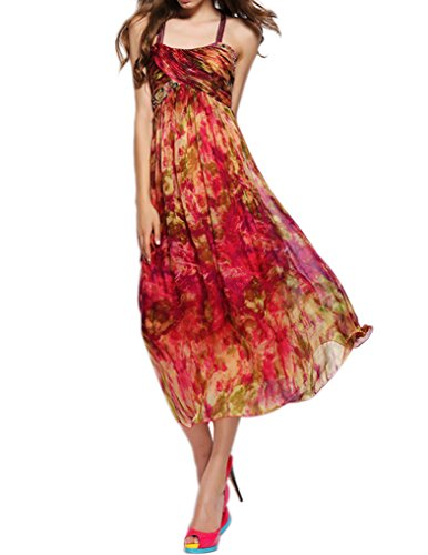 Summer Silk Dress - 5