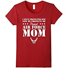 Pride U.S Army - Proud Air Force Mom He Protects T-shirt