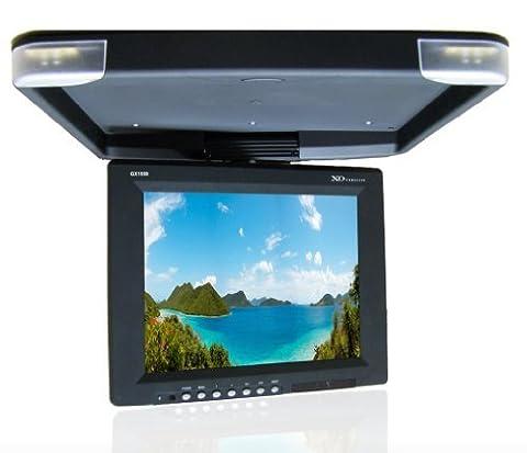 XO Vision GX1559 15-Inch TFT-LCD Overhead Flip-Down Ceiling Mount Monitor - Ceiling Mount Flip Down Lcd