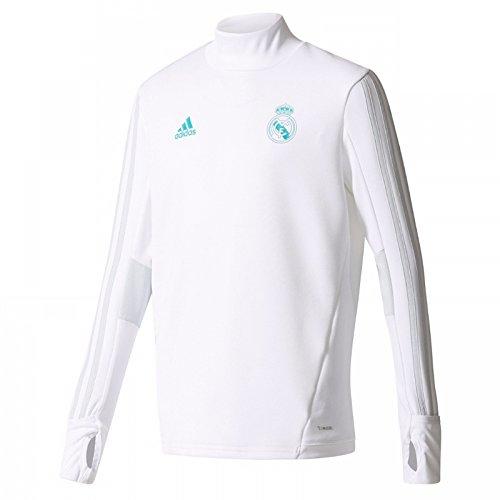Real Madrid Training Top - adidas 2017-2018 Real Madrid Training Top (White)