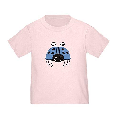 CafePress Blue Ladybug Toddler T-Shirt Cute Toddler T-Shirt, 100% Cotton