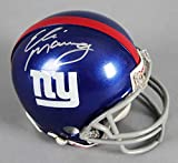 Eli Manning Signed New York Giants Mini-Helmet - COA Steiner
