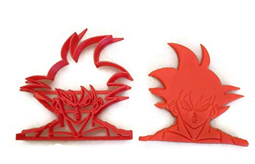 Dragonball Z Goku cookie - Dragon Ball Cookie Z