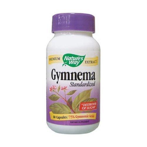 Nature's Way Standardized Gymnema - 60 Capsules, 4 pack by Nature's (Gymnema Standardized 60 Capsules)