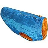 Kurgo Loft Dog Jacket, Medium, Blue/Orange
