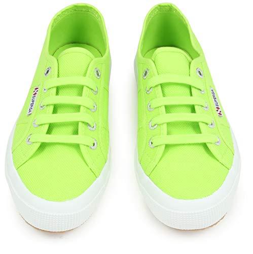 Green Superga Adulto Verde Unisex Classic acid 2750 Cotu Zapatillas qSxrqP8g