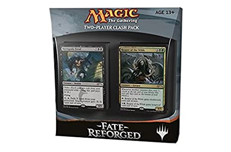 Magic The Gathering Fate Reforged Clash Pack 2 Decks Includes