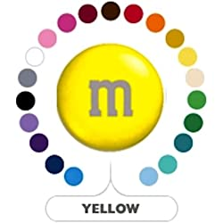 M&M's Yellow Milk Chocolate Candy 5LB Bag