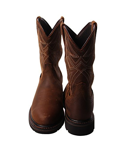 Toe Waterproof Boots Steel Sierra Brown Mens Ariat Everett Work w4xpqUgS