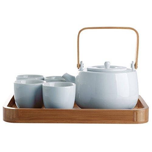 serenity tea pot set