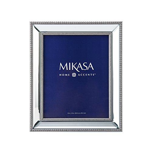 Mikasa 5151010 Beaded Mirror Picture Frame 8by10Inch