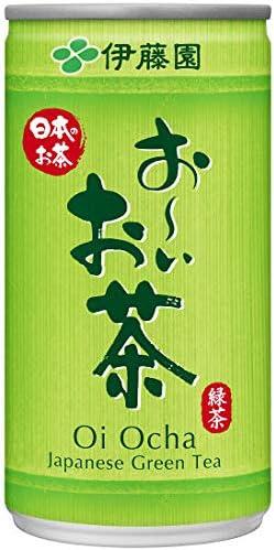伊藤園 おーいお茶緑茶 190g缶×30本