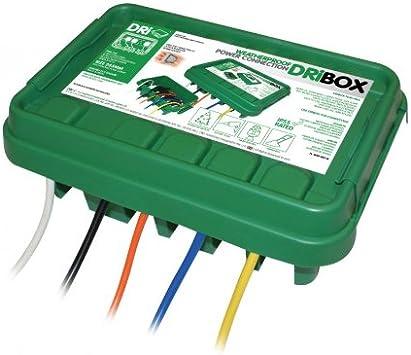 DriBox IP55 285mm Medium Weatherproof Box Black