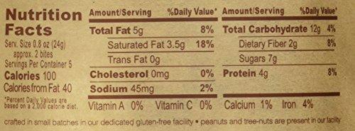 The GFB Gluten Free, Non-GMO High Protein Bites,Dark Chocolate Coconut, 4 Ounce