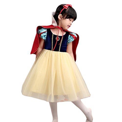 Newest Halloween Costumes 2016 (sophiashopping Snow White Princess Dress Halloween Costumes Dressup 47.2