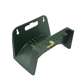 PVC Schlauchhalter Wandschlauchhalter Kunststoff Grün Halterung Gartenschlauch