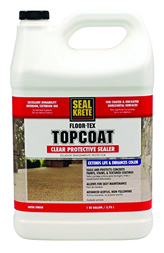 Floor Varnish Clear Satin - Floor-Tex Topcoat Clear Satin Sealer 1-gallon