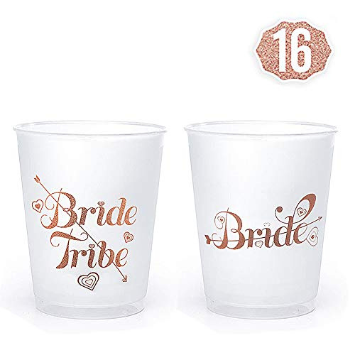 Premium Bachelorette Party Cups By Hombae [16-Pack] | 14