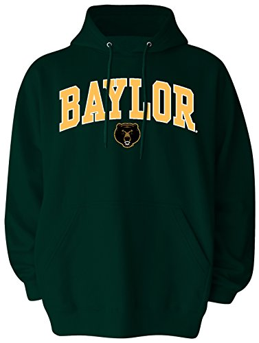 Old Varsity Brand NCAA Baylor Bears Men's Big Pullover Hoodie, 3X-Large Tall, Forest Green