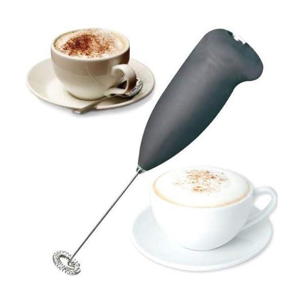 AVJ Milk Frother Electric Foam Maker Classic Sleek Design Hand Blender for Milk, Coffee, Egg Beater, Juice, Cafe Latte…