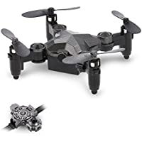 Goolsky DH-800 2.4G 4CH Mini G-sensor Foldable Drone Height Hold Watch Style Remote Controller Portable Quadcopter RTF