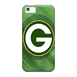 Unique Design Iphone 5c Durable Tpu Case Cover Green Bay Packers Hd