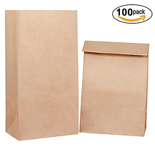 Recycled Brown Kraft Bags - 9