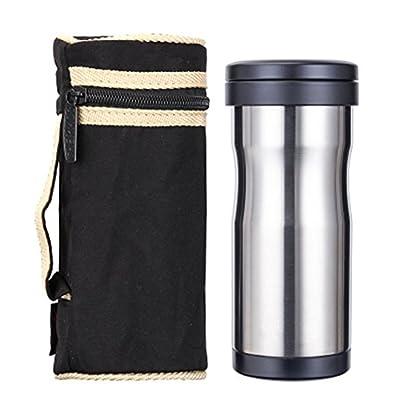 Tasses à thé avec filtre à thé Business Office pour homme et femme en acier inoxydable Isolation Tasse à café