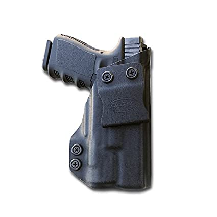 amazon com glock 19 w inforce aplc iwb holster for concealed carry