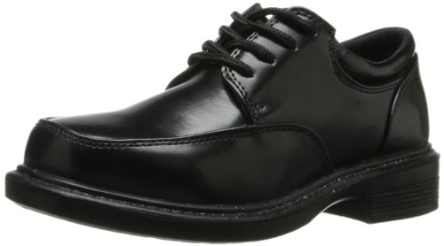 French Toast Mitch Oxford (Toddler/Little Kid/Big Kid),Black,13 M US Little (Black Dress Uniform Shoes)