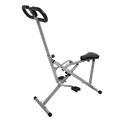 Sunny Health & Fitness Squat Assist Row-N-Ride Trainer for Squat Exercise and Glutes Workout by Sunny Health & Fitness (Image #2)