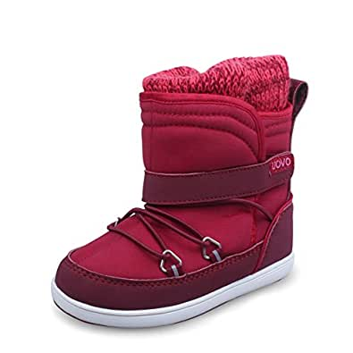 Amazon.com | Girls High Top Snow Boots Children's Knit