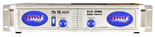 Professional DJ Power Amplifier - 3100 Watts, 2 Channels, Dual