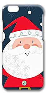 iPhone 6 Case, Santa Customize Protective Slim Hard 3D Case Cover for New Apple iPhone 6(4.7 inches)