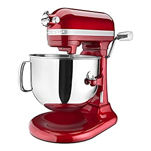 KitchenAid KSM7586PCA 7-Quart Pro Line Stand Mixer Candy Apple Red 4