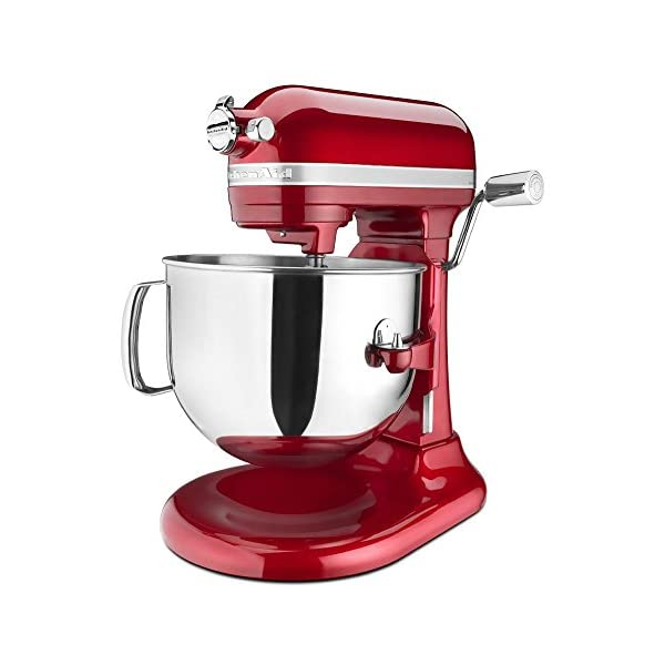 KitchenAid KSM7586PCA 7-Quart Pro Line Stand Mixer Candy Apple Red 1