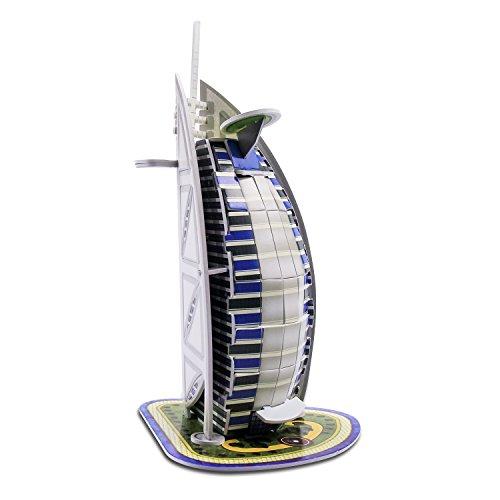 The Burj Al Arab World Great Architecture 3D Puzzles DIY Toys for Children and Adult Jigsaw Puzzle Burj Al Arab Puzzle