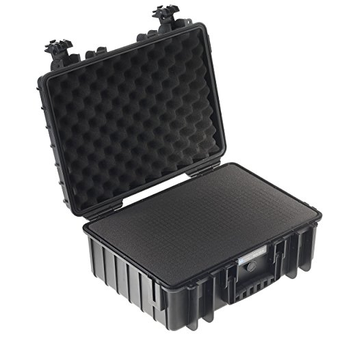 Type 5000 Outdoor Case with SI Foam, Black by B&W International