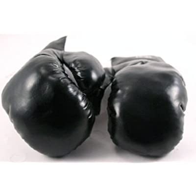 2 Pair Black 14oz Punching Boxing Gloves Great Exercise by Shelter