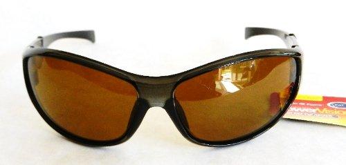 PowerVision Mens HI-DEF POLARIZED Sport Sunglasses (440) 100% UVA & UVB Protection-Shatter Resistant + FREE BONUS MICROSUEDE CLEANING - Def Sunglasses Hi