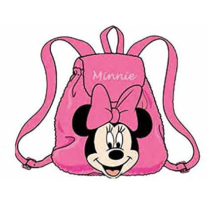 Disney Minnie Mouse Plush with Head Mini Backpack