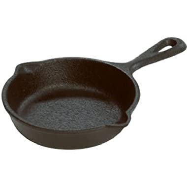 Lodge LMS3 Miniature Skillet, 3.5 , Black