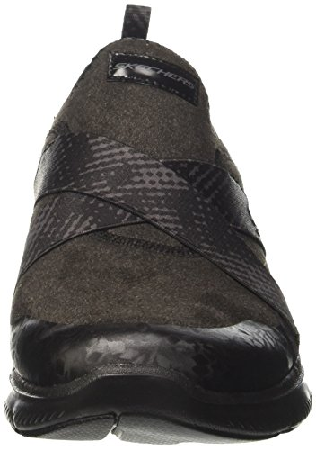 Flex 2 black Nero bright Eyed 0 Donna Appeal Allenatori Skechers RwqgCw