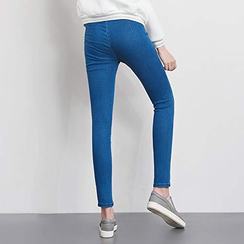 Disponibile 6l Con Jeans Alta Laterale Cerniera Donn Rlwfjxh Matita 5l Donna A Vita Skinny qOpECwqW