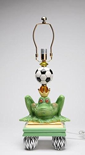 ATD 61523 19.13'' Frog Prince & Soccer Ball Lamp Base by ATD